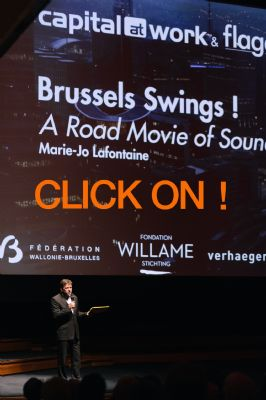 -Private Opening at Flagey on April 26- Marie-Jo lafontaine Film's Premiere-Brussels Swings ! a road movie of sounds